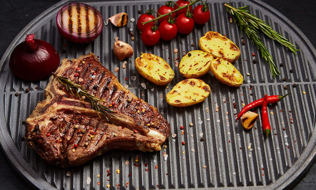 Grilovaný T-bone steak